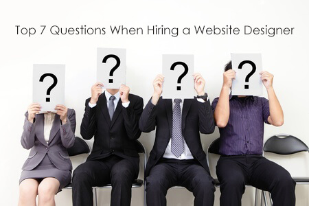 Top Questions When Hiring a Website Designer